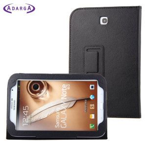 Adarga Folio Stand Samsung Galaxy Note 8.0 Case - Black