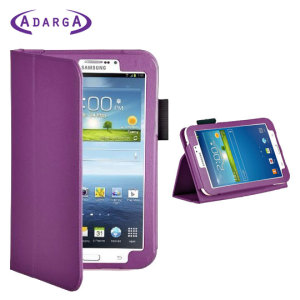 Adarga Folio Stand Samsung Galaxy Tab 3 7.0 Case - Purple
