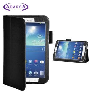 Adarga Folio Stand Samsung Galaxy Tab 3 8.0 Case - Black
