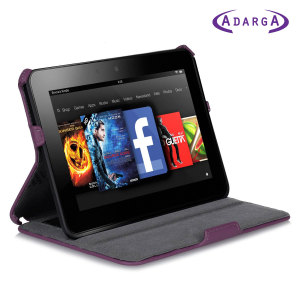 Adarga Frameless Kindle Fire HD 2012 Case - Purple