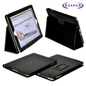 Adarga Stand and Type Case for iPad Mini 3 / 2 / 1 - Black