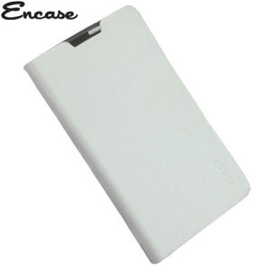 Adarga Stand and Type Folio Case for Wiko Cink Five - White
