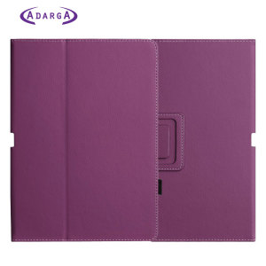 Adarga Stand and Type Samsung Galaxy Tab 10.1 Case - Purple
