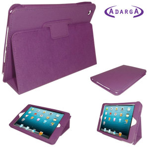 Adarga Stand & Type Case for iPad Mini 2 / iPad Mini - Purple