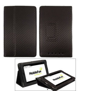 Adarga Stand & Type case Google Nexus 7 2012 - Carbon Fibre Black