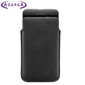 Adarga Suede-Style BlackBerry Z10 Pouch Case - Black
