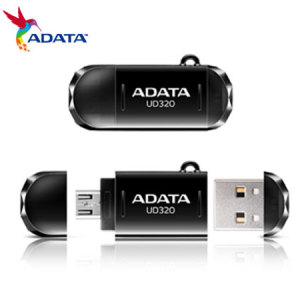 ADATA DashDrive USB Flash Drive for Smartphones & Tablets - 16GB