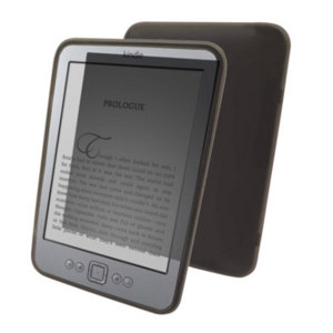 Advanced FlexiShield Skin for Amazon Kindle - Transparent Black