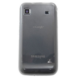Advanced FlexiShield Skin For Samsung Galaxy S - Transparent Black