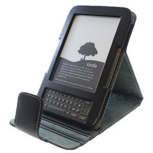 Advanced Leather Style Flip Case for Amazon Kindle Keyboard