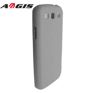 Aegis Rubber Hard Shell For Samsung Galaxy S3 - Silver