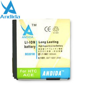 Andida Extended Battery for HTC Desire HD - 1800mAh