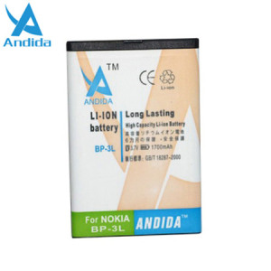 Andida Extended Battery for Lumia 610 / 710 - 1700mAh