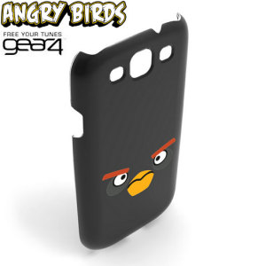 Angry Birds Case For Samsung Galaxy S3 - Black Bird