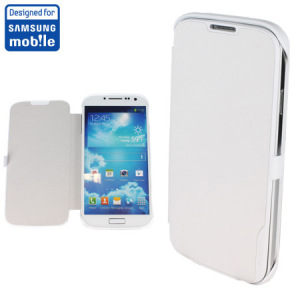 Anymode Samsung Galaxy S4 Book Flip Cover - White