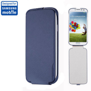 Anymode Samsung Galaxy S4 Flip Case - Blue