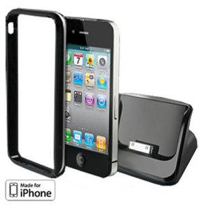 Apple iPhone 4S / 4 Bumper Compatible USB Cradle