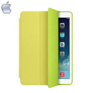 Apple Leather Smart Case for iPad Air - Yellow