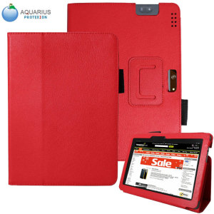 Aquarius Protexion Folio Stand Case for Kindle Fire HDX 8.9 - Red