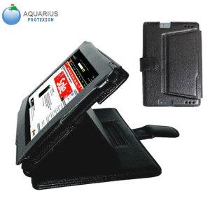 Aquarius Protexion Pro Wallet Case for Kindle Fire HDX 7 - Black