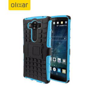 ArmourDillo Hybrid Protective LG V10 Case - Blue