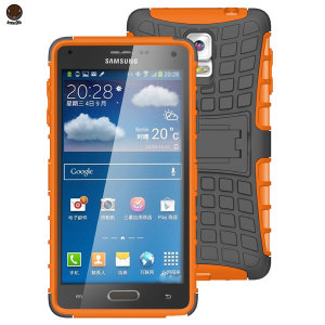 ArmourDillo Hybrid Samsung Galaxy Note 4 Protective Case - Orange