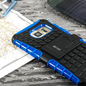 ArmourDillo Samsung Galaxy S7 Edge Protective Case - Blue