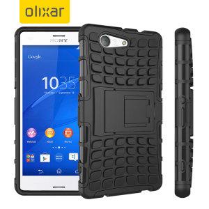 ArmourDillo Sony Xperia Z3 Compact Protective Case - Black
