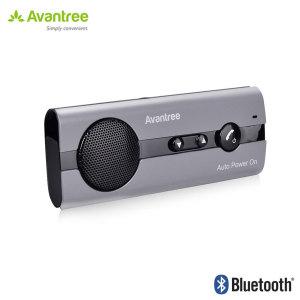Avantree 10BS Bluetooth Hands-Free Visor Car Kit with Auto Power On