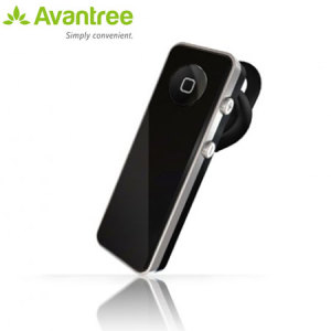 Avantree Bluetooth A2DP Mono Headset - 4GS - Black