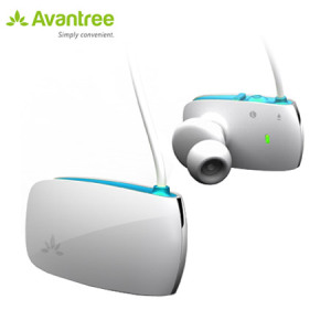 Avantree Sacool Stereo Bluetooth Headset - White / Blue
