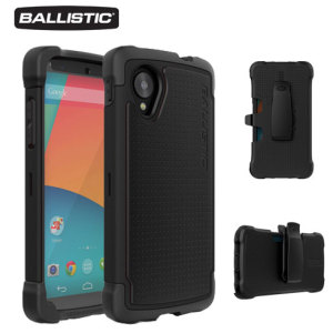 Ballistic SG Maxx Series Case for Google Nexus 5 - Black