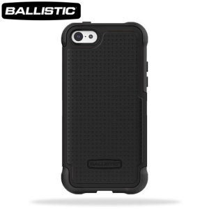 Ballistic Shell Gel Case for iPhone 5C - Black