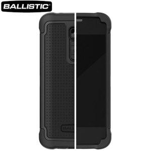 Ballistic Shell Gel Case for LG G2 - Black