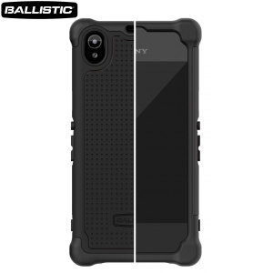 Ballistic Shell Gel Case for Sony Xperia Z1 - Black