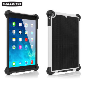 Ballistic Tough Jacket iPad Air Case - Black / White