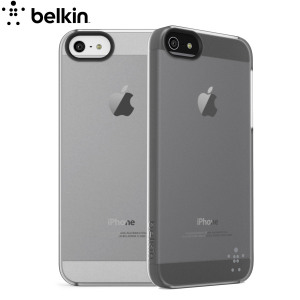 Belkin F8W162 Shield Sheer Case for iPhone 5S / 5 - Clear
