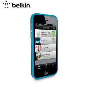 Belkin F8W371 Candy Grip Case for iPhone 5C - Topaz