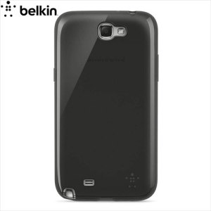 Belkin Grip Sheer Case for Galaxy Note 2 - Translucent Black