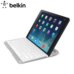 Belkin Keyboard Case for iPad Air - White