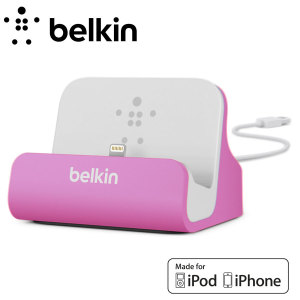 Belkin Lightning Charge and Sync Dock for iPhone 6 / 5 Series - Purple