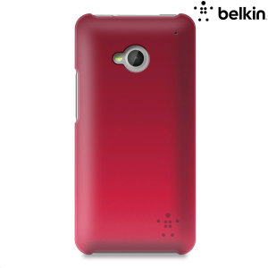 Belkin Micra Fine Ultra Thin Case for HTC One M7 - Sorbet Steel