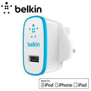 Belkin Single AC Wall Charger 2.1A - Blue