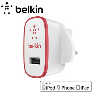 Belkin Single AC Wall Charger 2.1A - Red