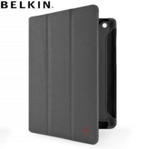 Belkin Suede TriFold Case for iPad 3 - Grey