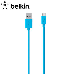 Belkin Sync Charge USB - Micro USB Cable 2M - Blue