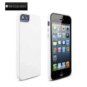 Beyza Snap Case for iPhone 5S / 5 - White