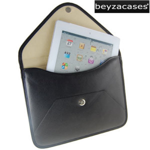 Beyza Thinvelope Sleeve For iPad 4 / 3 / 2 - Black