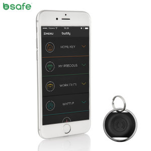 Biisafe Buddy Location Bluetooth Tracker Device - Black