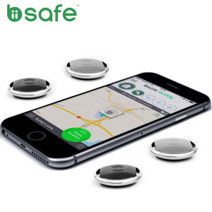 Biisafe Buddy Location Bluetooth Tracker Device - Family Pack - Black